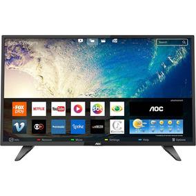 Smart Tv Led 39 Aoc Le39s5970 Hd Com Conversor Digital 2 Hd