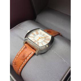 Reloj Lancaster Italy Fashion Vintage Café