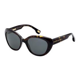 28fb15dfe2432 Lentes De Sol Gafas Marc Jacobs Havanah Cat Retro Poco Uso