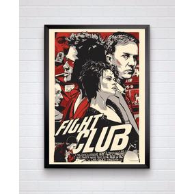 Poster Do Filme Clube Da Luta Com Moldura E Tamanho A3
