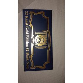 Billete En Oro 22k Edicion Especial Con Certicado.