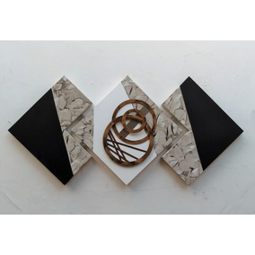 Quadros Abstratos 70x150cm - Frete Grátis