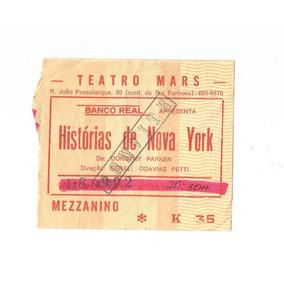 Ingresso Colecionador Historias De Nova York