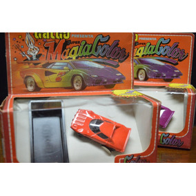 Juguete Antiguo Auto Galgo Magia Color No Chapa Buby