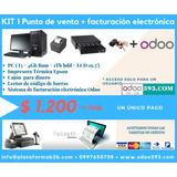 Kit Con Punto De Venta Y Facturación Electrónica Odoo