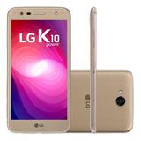 Smartphone Lg K10 Power Dourado Excelente Dual Chip 32gb 4g