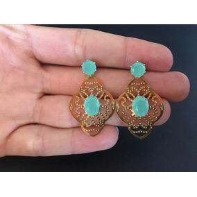 b0df08837facd Brinco Azul Tiffany - Joias e Bijuterias no Mercado Livre Brasil