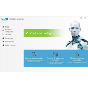 Eset Internet Security 2019 - 1 Ano