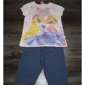 Conjunto Disney Princesas Div.cores/modelos!queima D Estoque