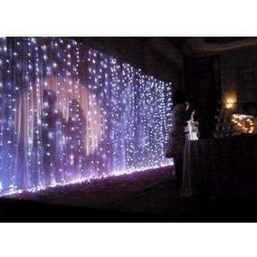 Cortinas luces led para eventos luces de navidad en - Luces led calidas ...