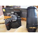 Camara Nikon D7200 Lente 18 -140 Vr Kit Nueva