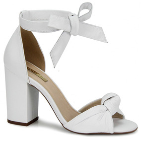 ed00694acf Sapato De Salto Feminino Passarela - Sapatos Branco no Mercado Livre ...