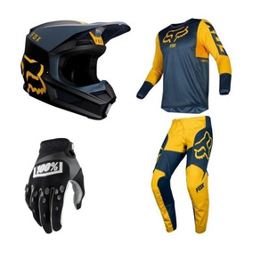 Kit Fox Motocross - Roupa para Motociclista no Mercado Livre Brasil 8b1aec8afe2