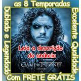 Game Of Thrones Serie (1ª Até 8ª Temp. Completa)frete Grátis
