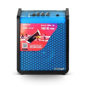 Caixa Amplificada Chroma Cr400 Frahm 100w
