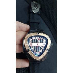 877b9c77f19 Relogio Lamborghini Tonino Aco Vidro Masculino - Relógios De Pulso ...