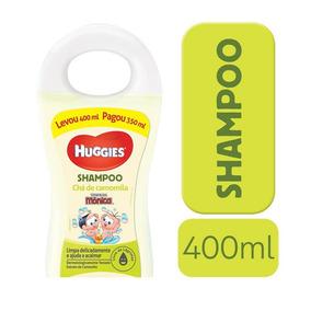 Shampoo Infantil Huggies Chá De Camomila - 400ml