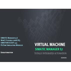 Máquina Virtual Siemens Simatic Manager Step7- Djrautomation