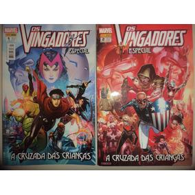 Os Vingadores Especial 1 E 2 Completa Panini 2012 Excelente