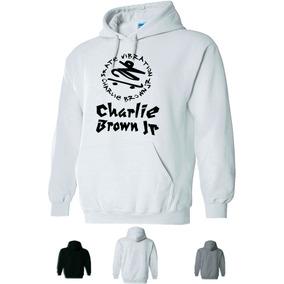 Blusa Moletom Charlie Brown Capuz Bolsos Moleton Roupa Banda b4667465582