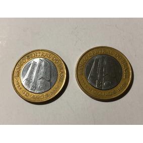 Frete Grátis - Moeda 1 Real Bc 40 Anos Banco Central 2005