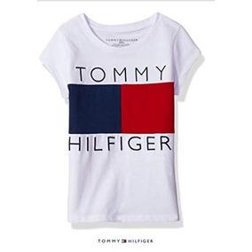 Blusas Tommy Hilfiger Bandera Para Niña Jovencita 7 14 Años