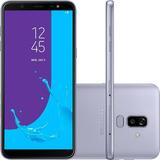 Smartphone Samsung Galaxy J8 64gb 6 Dual 16mp+5mp - Prata