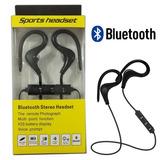 Fone De Ouvido Headset Bluetooth Esportivo Sem Fio Gancho