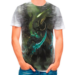 Camisa Camiseta World Of Warcraft Illidan Wow 4623 c33d91e7f3373