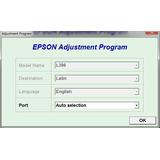 Reset Epson L396