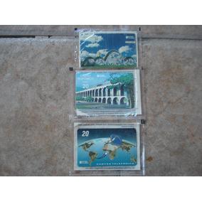 Cartão Telefônico Telebrás(três Cartões) Raros
