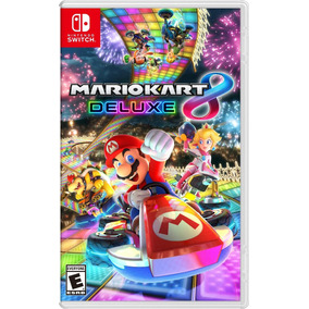 Mario Kart 8 Deluxe Switch Mídia Física Envio Imediato