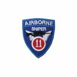 Bordado Termocolante Airborne Sniper
