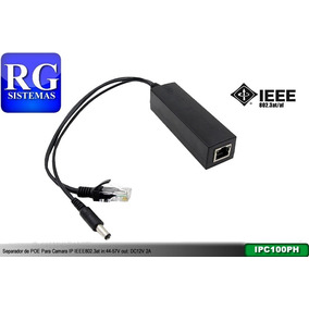 Separador De Poe Para Camara Ip Ieee802.3at/af In:44-57v