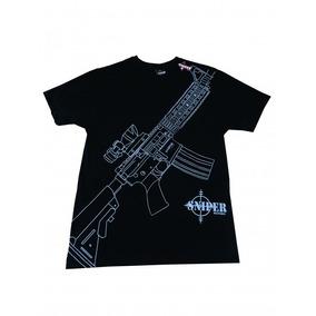 Camiseta Sniper Fuzil M4