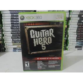 Jogo Guitar Hero 5 - Xbox 360 Original