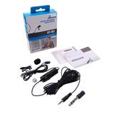 Microfono Pechero Solapero Boya By-m1 Cable De 6 Mts Celular