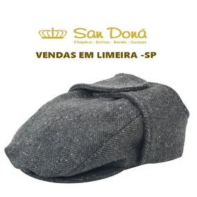 Boina Tapa Orelha Cinza Varias Cores E Tamanhos San Dona 864477cfdaa