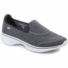 Zapatillas Skechers Go Walk 4 Super Sock Mujer Caminata
