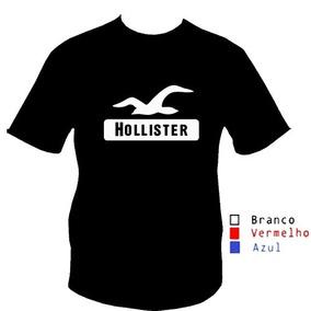 f0ea50c0a5 Camisa Basica Hollister Tamanho M - Camisas no Mercado Livre Brasil