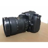 Nikon D7000 + 18-200 Vr + Caixa Bolsa Cartão Só 16mil Clicks
