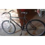 Uma Bike Shimano Ano 2004 Cor,azul Pneeus Novo Aro26 E Toda,