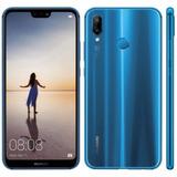 Celular Huawei P20 Lite 32gb Lte Dual Sim Tela 5.84 Azul
