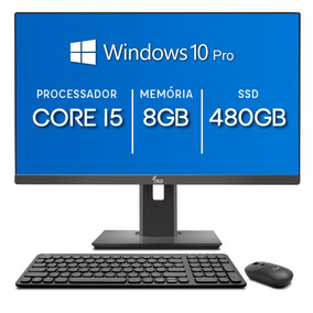 All In One 3green 24 Intel Core I5 8gb Ssd 480gb Windows 10
