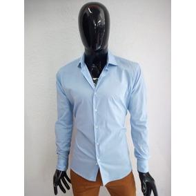 Camisa Lisa Para Caballero