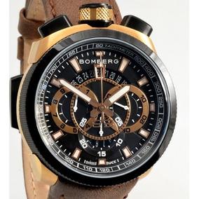 Reloj Bomberg Nuevo Bolt 68 Bs45chtt Correa De Piel $12000