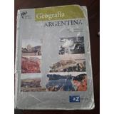 Geografia De La Argentina - Editorial Az - Serie Plata