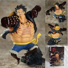 Boneco Luffy Gear Fourth Action Figure One Piece
