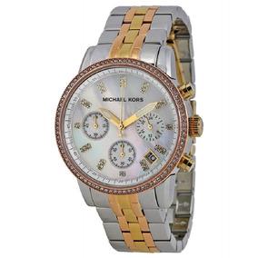 044d94e3af2c8 Relógio Michael Kors Mk5682 Tartaruga Ritz Collector Set - Relógios ...