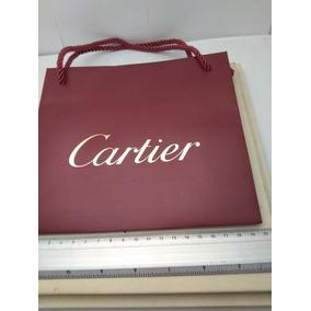 Bolsa De Papel Cartier Usos Diversos Original